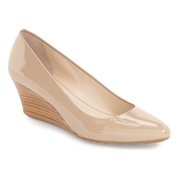 COLE HAAN 'tali luxe' wedge pump - Perfect for days when you want a little height without the...