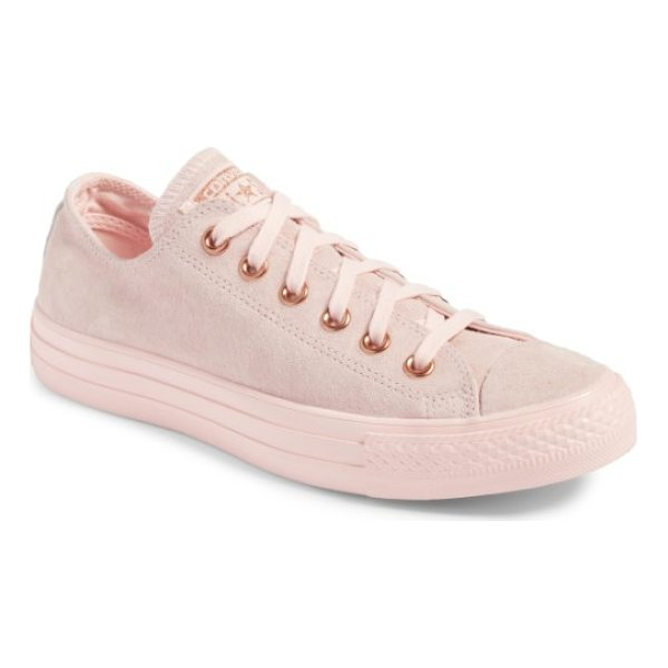 CONVERSE blossom sneaker - The iconic All Star Low silhouette gets updated in luxe...