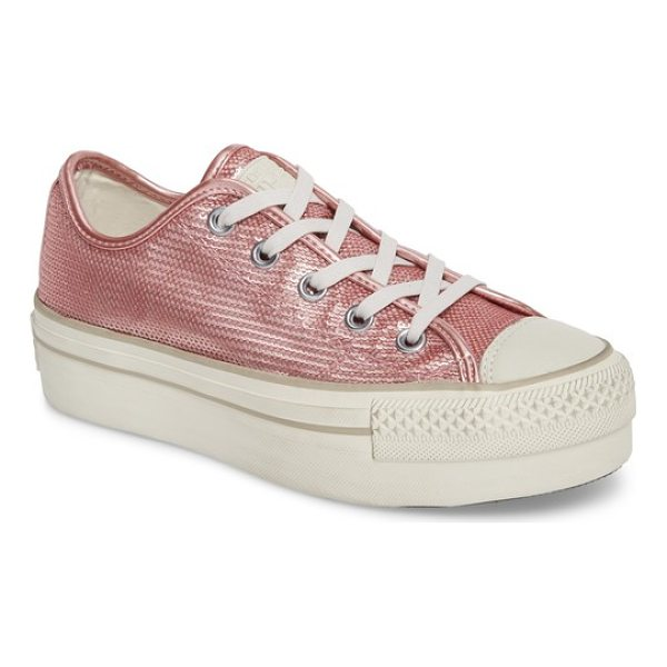 CONVERSE chuck taylor all star platform sneaker - A super-chunky stacked-platform bumper sole refreshes the...