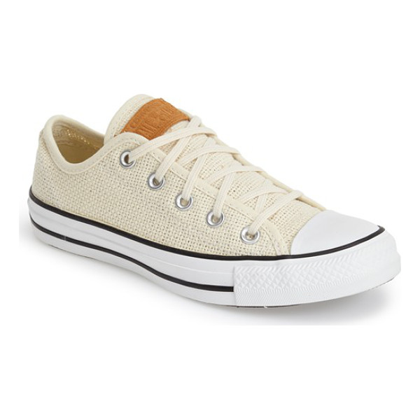 CONVERSE chuck taylor all star woven sneaker - The iconic low-top sneaker lightens up for summer in an...