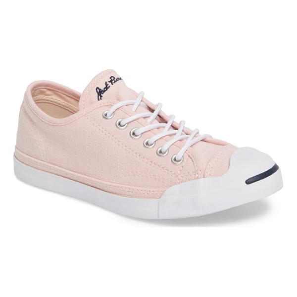 CONVERSE jack purcell low top sneaker - A classic sneaker features a look that goes back to a '30s...