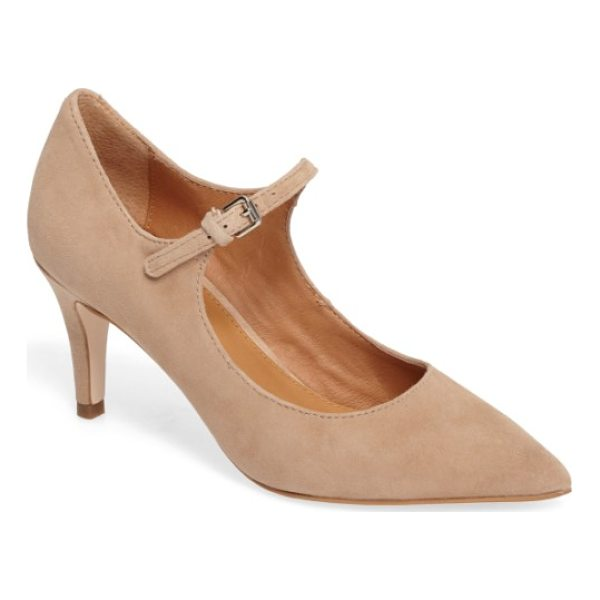 CORSO COMO coy pointy toe pump - A slim mary jane strap secures a pointed-toe pump featuring...