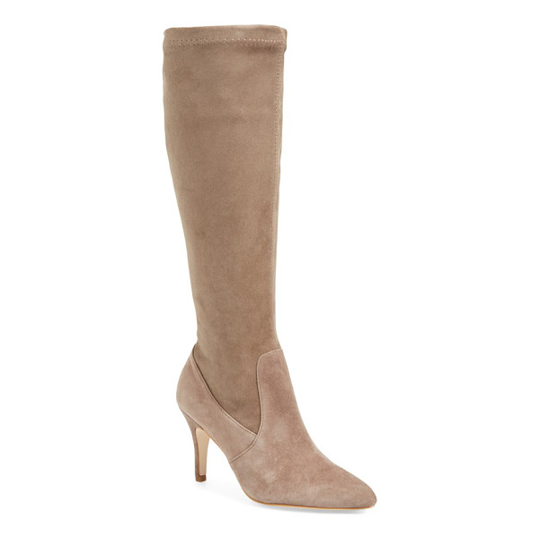 CORSO COMO redding knee high boot - A cushy footbed and breathable leather enhance the comfort...