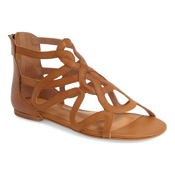 CORSO COMO surrey sandal - Curved leather straps add a sophisticated flourish to a...