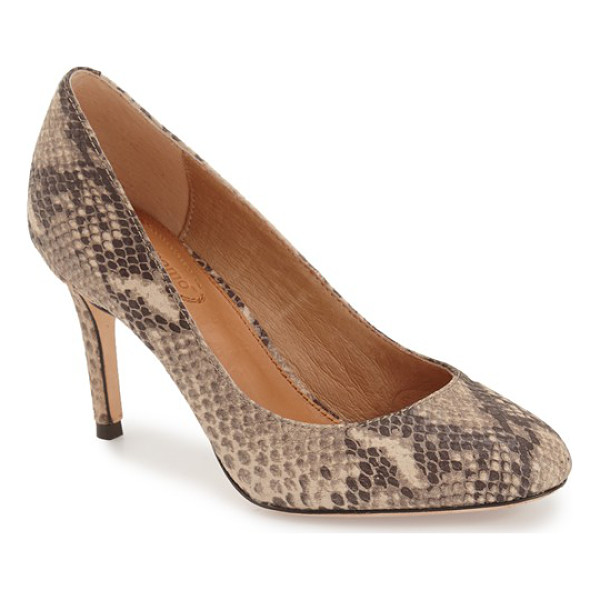 CORSO COMO webster suede pump - A supple leather lining and gel-cushioned footbed lend...