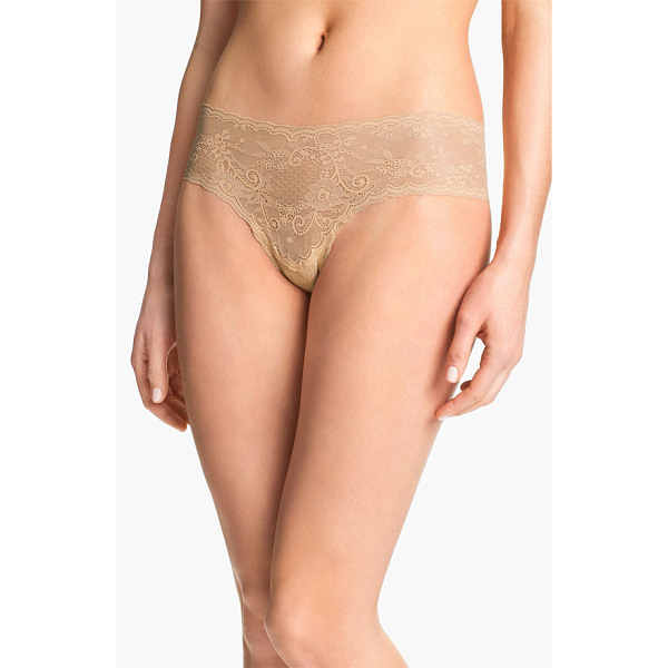 COSABELLA 'trenta' lace briefs - A fine stretchy lace brief is designed to lay flat and...