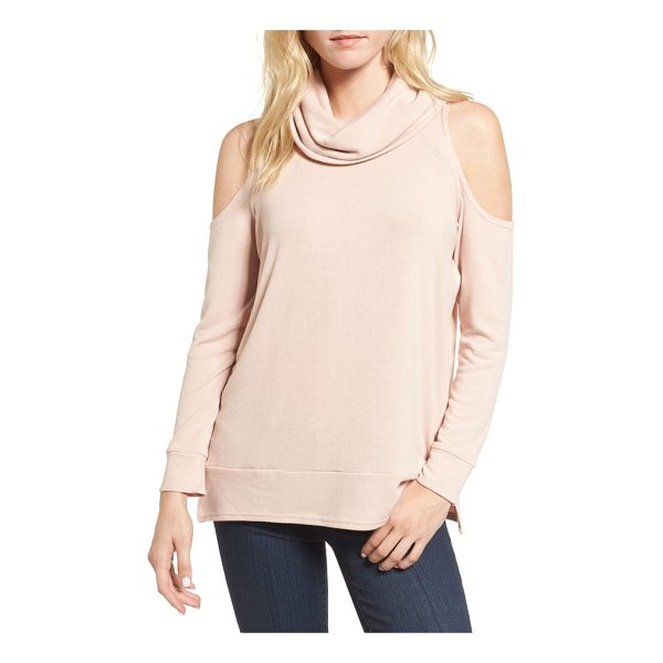 CUPCAKES AND CASHMERE malden cold shoulder sweater - Turn your weekday wardrobe into an opportunity for...