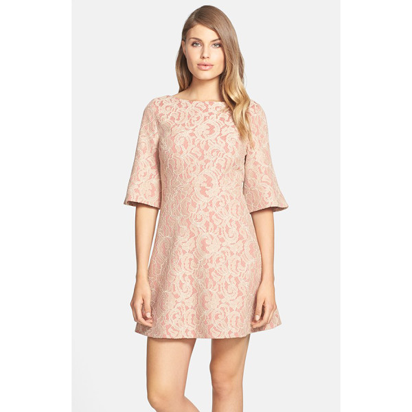 CYNTHIA STEFFE saira bell sleeve lace a-line dress - Swirling lace lends romantic texture to a beautifully...