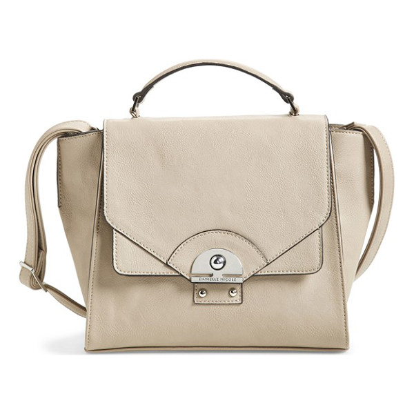 DANIELLE NICOLE Brooklynne satchel - Wide gussets and gleaming metallic hardware complement the...