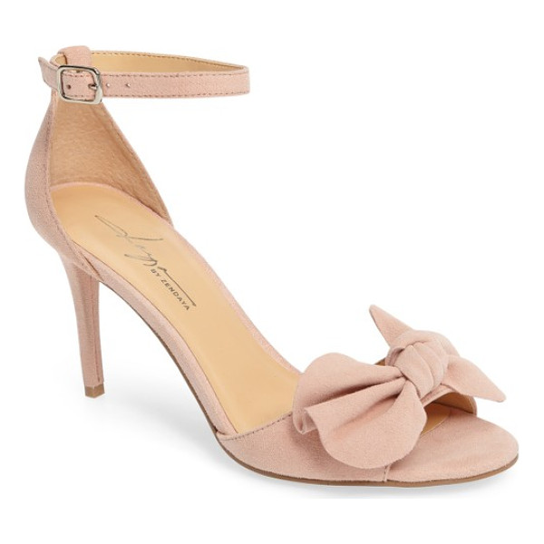 DAYA by zen simms ankle strap sandal - A soft-sculpted bow tops a breezy ankle-strap sandal that...