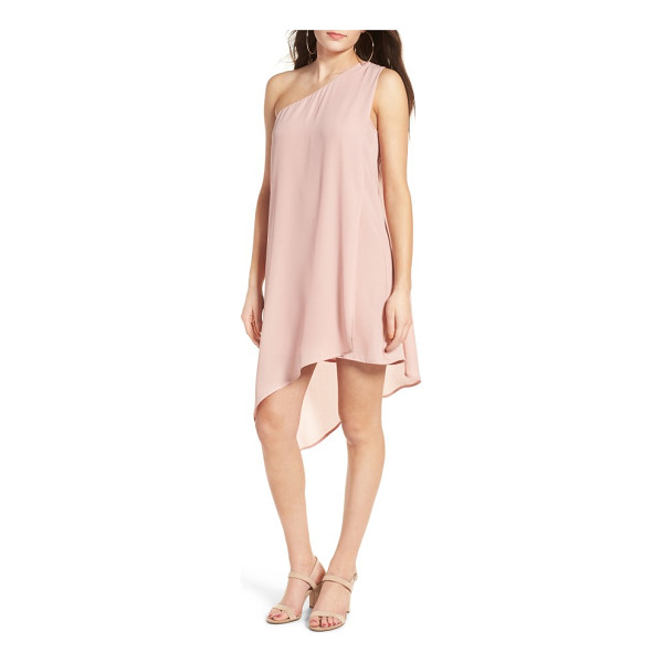 DEE ELLY one-shoulder shift dress - Embrace your inner Greek goddess in this beautifully draped...