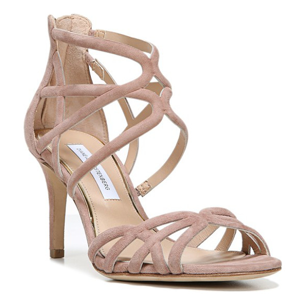 DIANE VON FURSTENBERG 'rao' midi sandal - Slender arcing straps embrace the toe and instep of this...