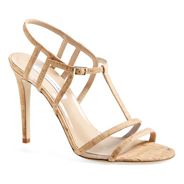 DIANE VON FURSTENBERG viola too sandal - A clean-lined, strappy sandal channels impeccable modern...
