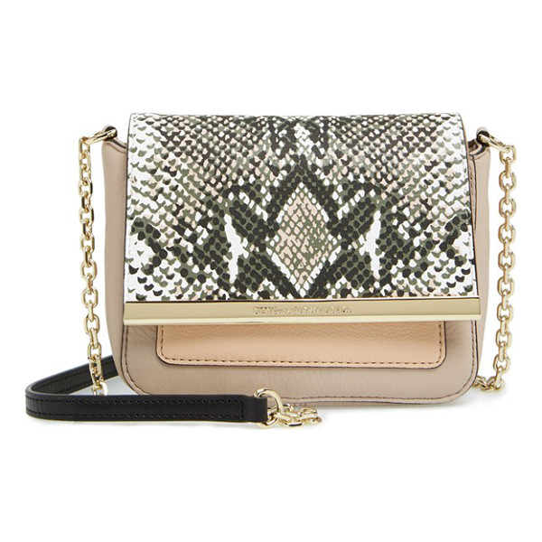 DIANE VON FURSTENBERG Voyage - Make a big impact with this mini bag from DVF-crafted from...
