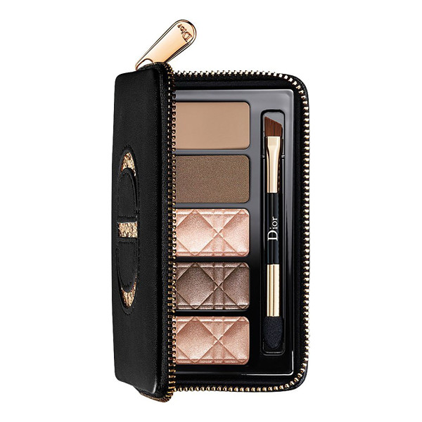 DIOR total matte glow nude palette for eyes & brows - What it is: This runway-inspired essential nude palette...