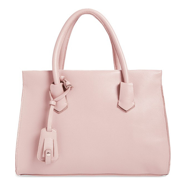 DIRTY BALLERINA Faux leather tote - This packable, structured, faux-leather tote features a...