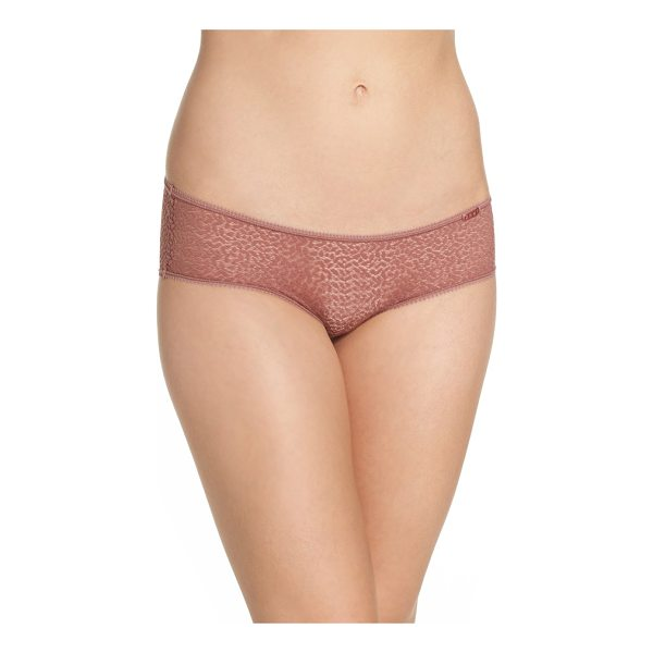 DKNY modern lace hipster panties - Lacy mesh feels light and looks sheer and sensual as...