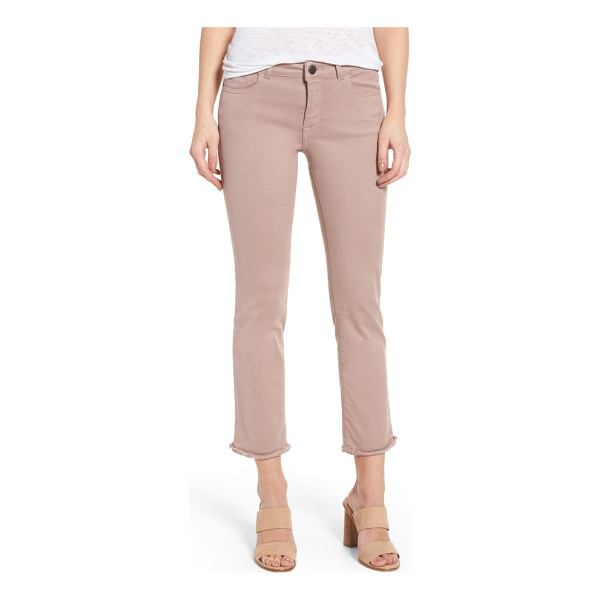 DL 1961 1961 mara ankle straight leg jeans - Sleek and timeless straight-leg jeans are finished with...