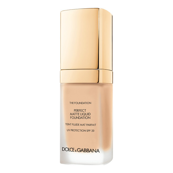 DOLCE & GABBANA perfect matte liquid foundation - Achieve a flawless, soft matte finish with Dolce & Gabbana