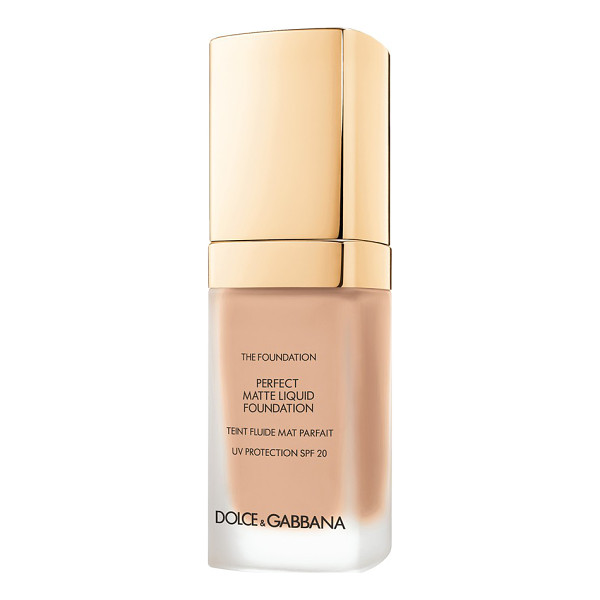 DOLCE & GABBANA perfect matte liquid foundation - Achieve a flawless, soft matte finish with Dolce & Gabbana...