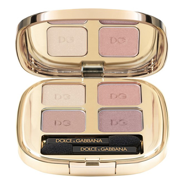 DOLCE & GABBANA Smooth eye color quad - Smooth Eye Color Quad by Dolce & Gabbana Beauty is full of...