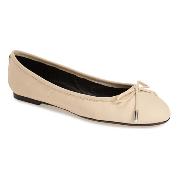 DOLCE VITA brae ballet flat - Polished metallic hardware highlights the dainty bow detail...
