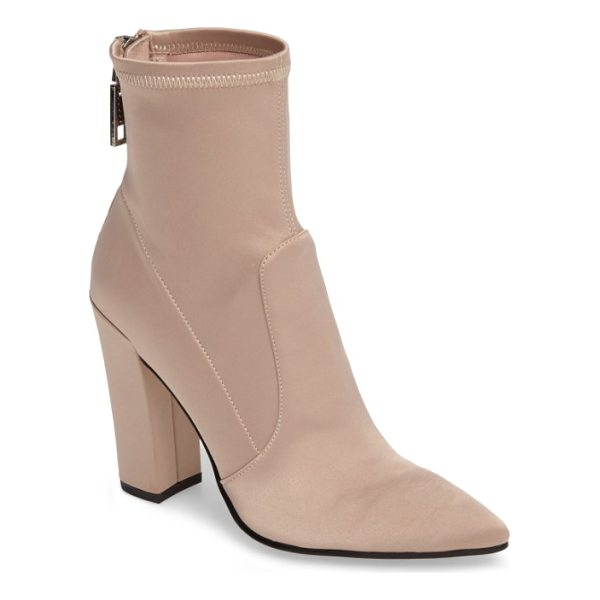 DOLCE VITA elana stretch sock bootie - A socklike fit and a perfectly pointed toe update a sleek...