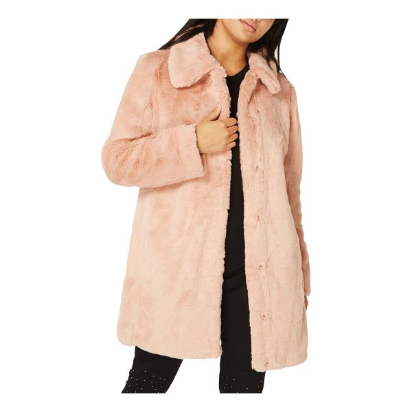 DOROTHY PERKINS dolly faux fur jacket - A neat point collar adds to the vintage-inspired charm of a...