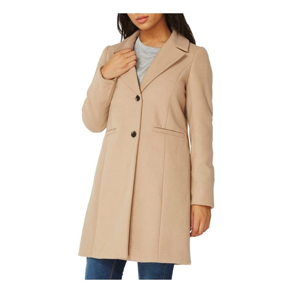 DOROTHY PERKINS single breasted coat - With a silhouette inspired by classic crombie-style coats,...