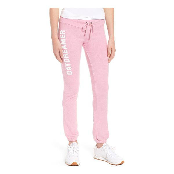 DREAM SCENE daydreamer skinny sweatpants - Wile away the day in the supreme comfort of skinny...