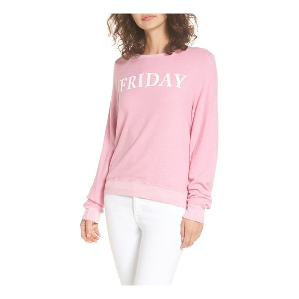 DREAM SCENE friday sweatshirt - Celebrate the start of the weekend in style with this...