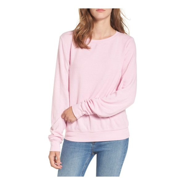 DREAM SCENE relaxed sweatshirt - Cut from a soft triblend knit, this slouchy sweatshirt is...