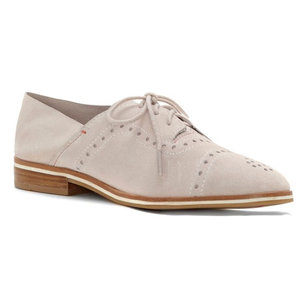 ED ELLEN DEGENERES lolena oxford - Broguing updates a borrowed-from-the-boys lace-up oxford...