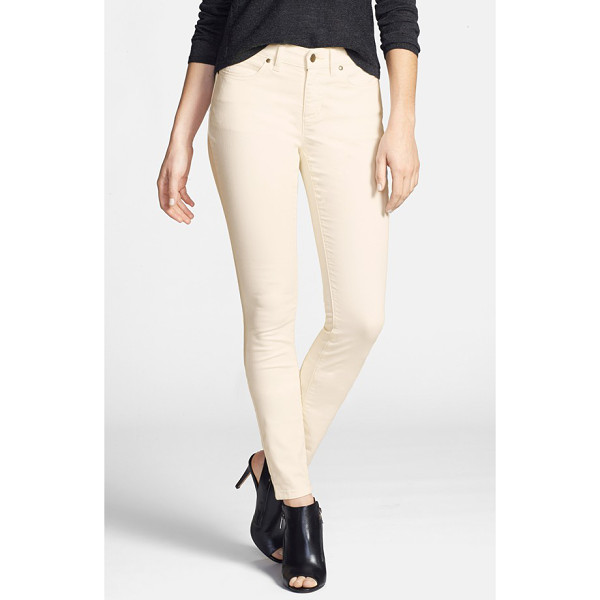 EILEEN FISHER the fisher project garment dyed stretch skinny jeans - Organic-cotton skinny jeans, infused with stretch comfort...