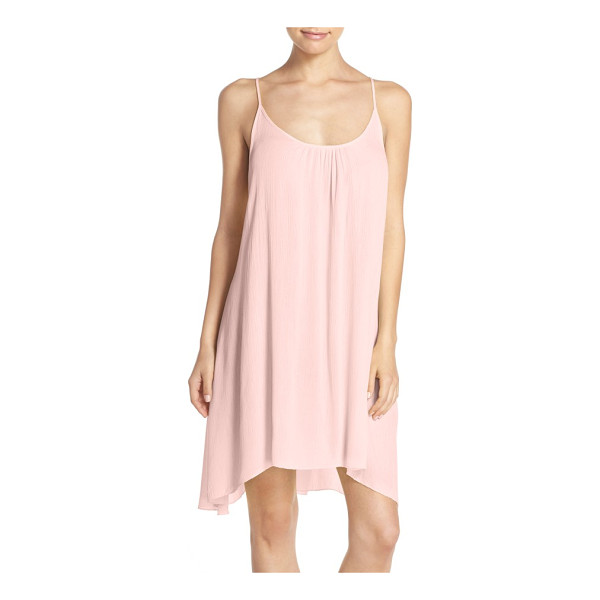 ELAN cover-up slipdress - An airy, lightweight slipdress designed with adjustable...
