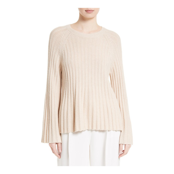 ELIZABETH AND JAMES baker flare sleeve top - A touch of cashmere brings luxurious softness to an...