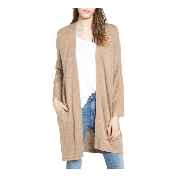 ELLA MOSS lizete longline cardigan - This longline cardigan in a supersoft mixed knit is a...