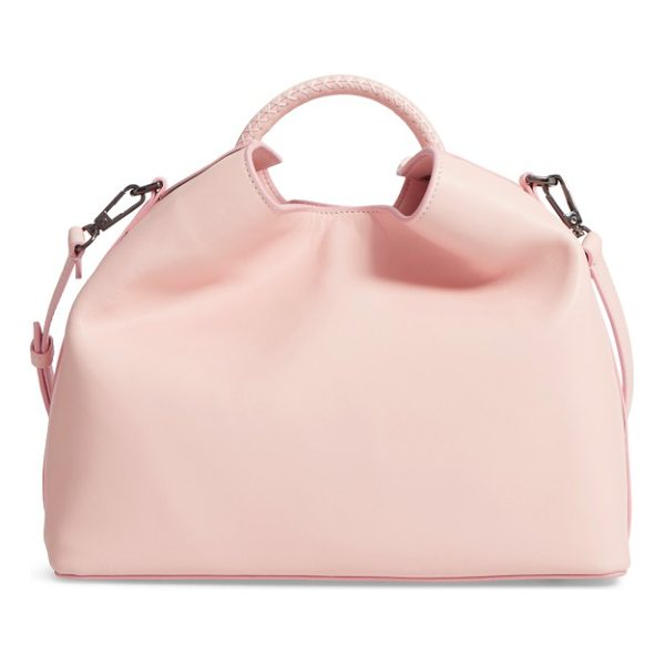 ELLEME raisin leather handbag - This sculptural handbag is made from smooth, supple cowhide...