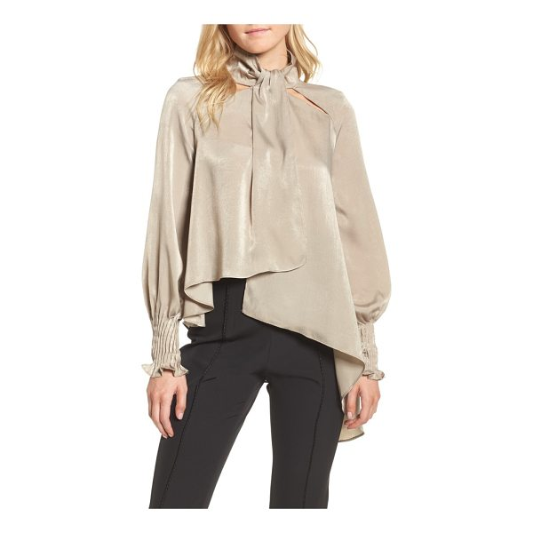 ELLIATT matinee asymmetrical blouse - Get the look of a screen siren from yesteryear with this...