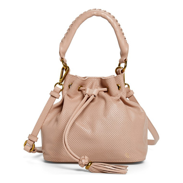 ELLIOTT LUCCA Gigi bon bon leather bucket bag - Chic leather punctuates a must-have bucket bag styled with...