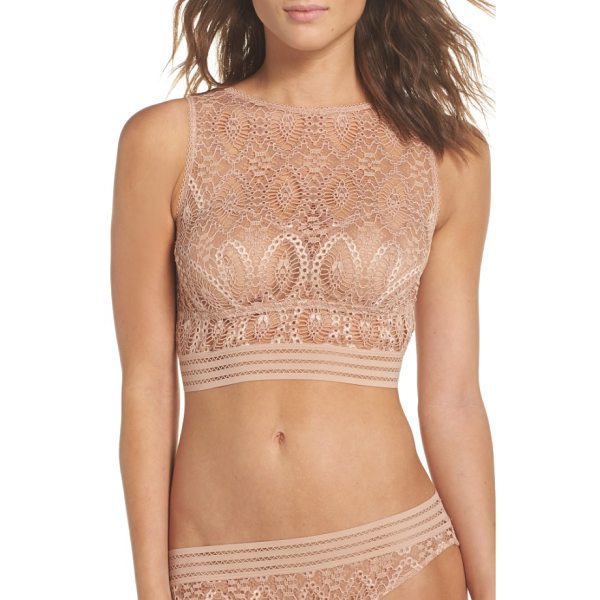 ELSE baroque underwire tank bra - A saucy and flattering mix between a cropped tank and bra...