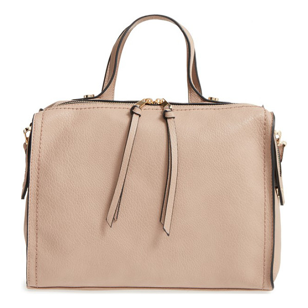EMPERIA Faux leather satchel - Carry your essentials in a retro-cool faux-leather satchel...