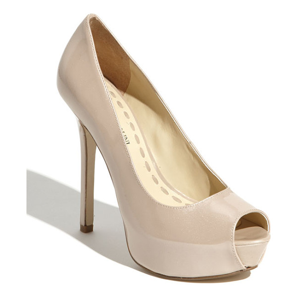 ENZO ANGIOLINI 'tanen' pump - Sculpted shape defines an alluring platform pump lifted by...