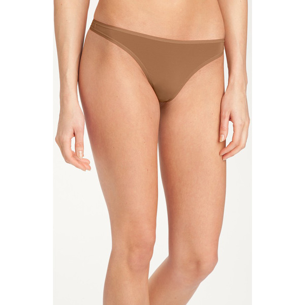 FELINA 'sublime' thong - Classic low-rise thong is made of soft, stretchy fabric for...