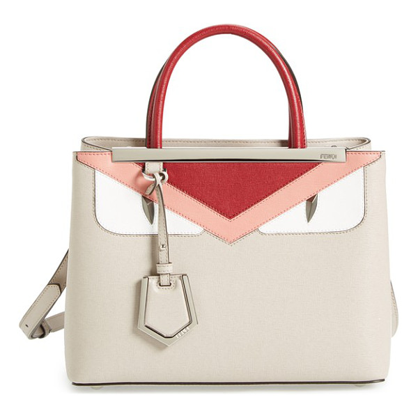 FENDI Petit 2jours - Playful yet precisely crafted, the Fendi Monster bag is a...