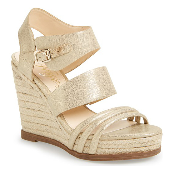 FERGIE annabelle espadrille wedge sandal - Modern and retro influences come together on a strappy...