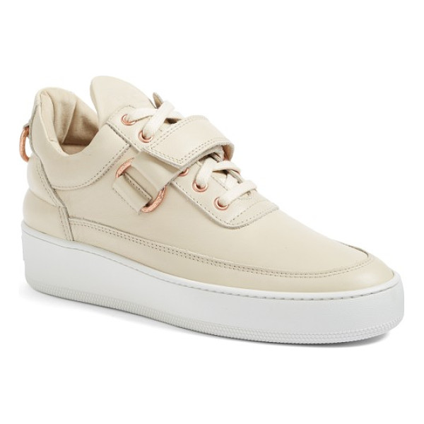 FILLING PIECES sneaker - Downtown attitude and uptown sophistication strike a...