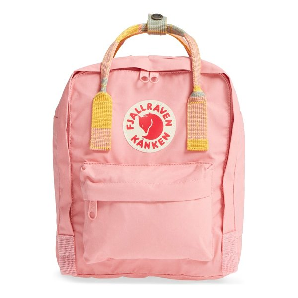 FJALLRAVEN mini kanken backpack - Designed with the environment in mind, this sized-down...