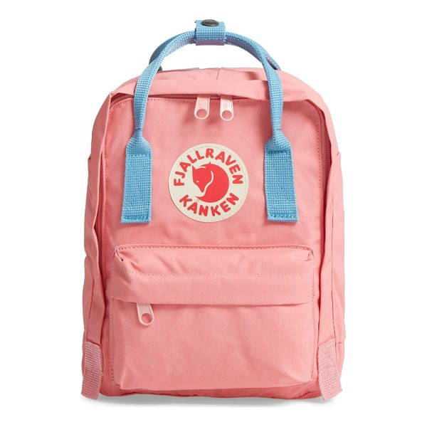FJALLRAVEN 'mini kanken' water resistant backpack - Scandinavian design has long been known for offering...