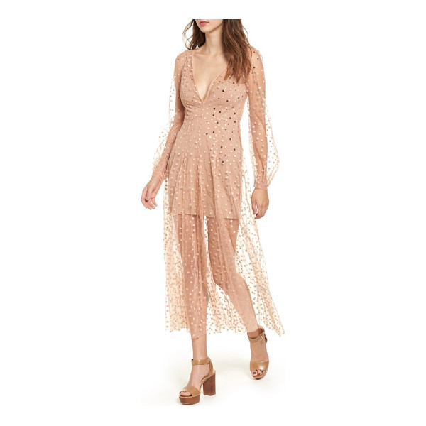 FOR LOVE & LEMONS all that glitters midi dress - Who needs real gold when you've got this fanciful tulle...
